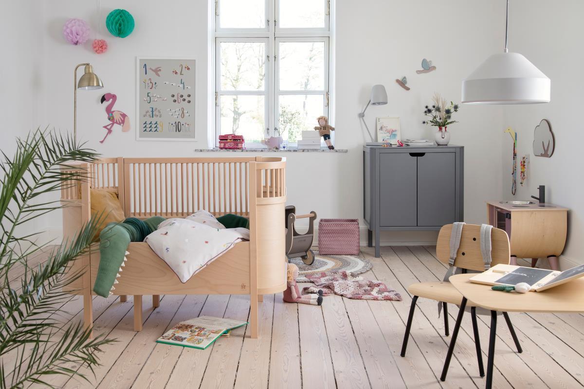 Sebra Kinderbett