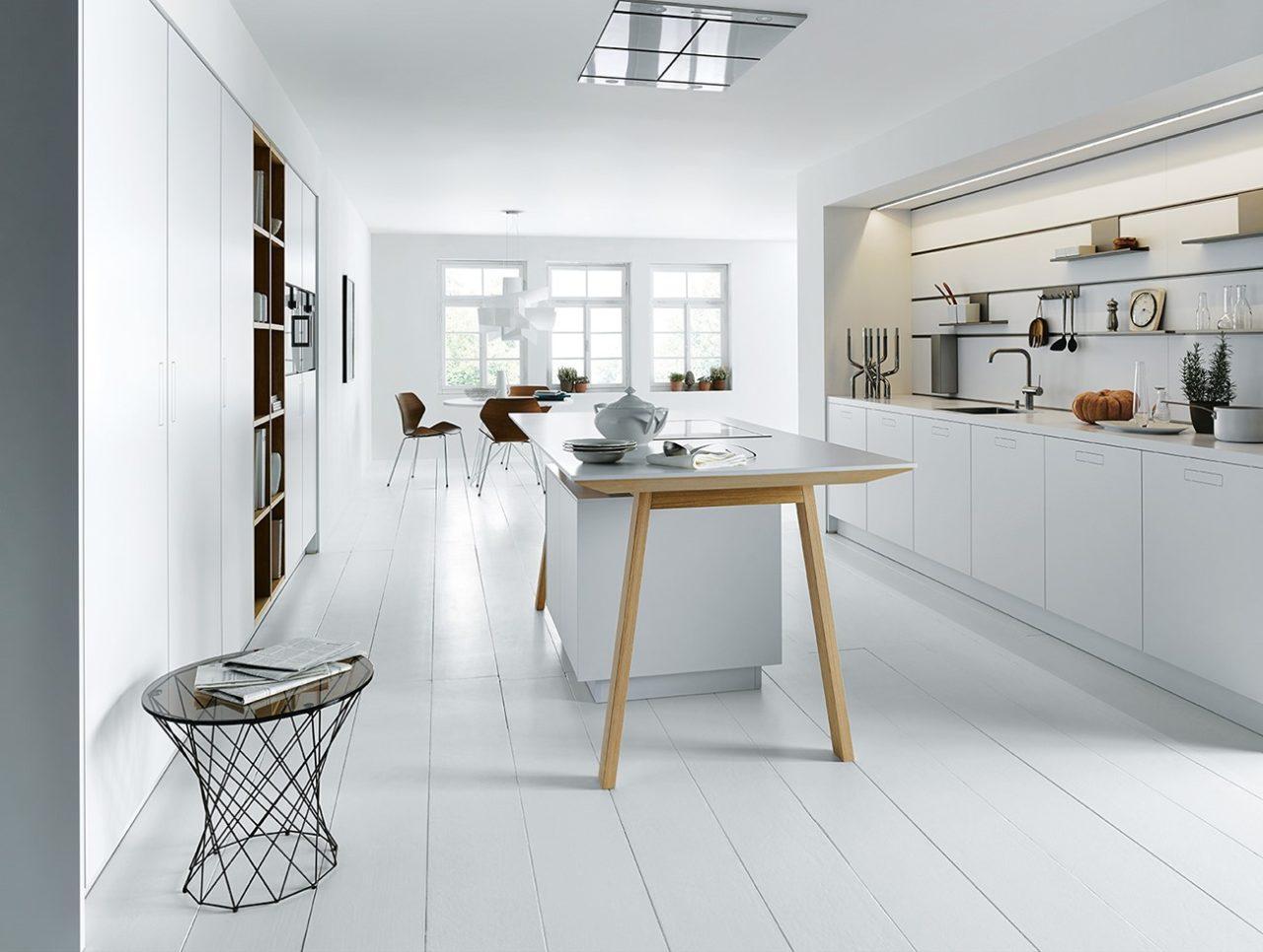 Weiße Küchen zeitlos und schön