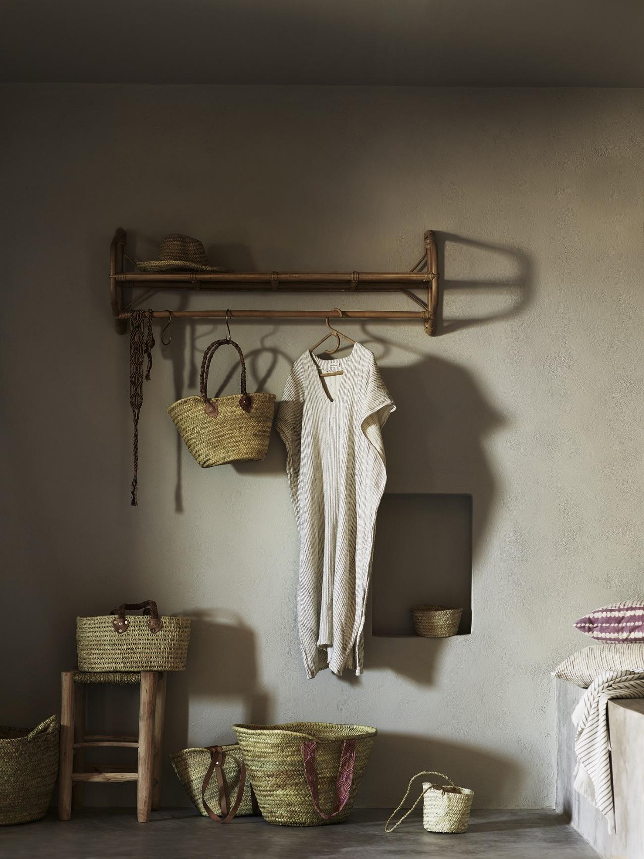 Garderobe aus Bambus von Tine K Home