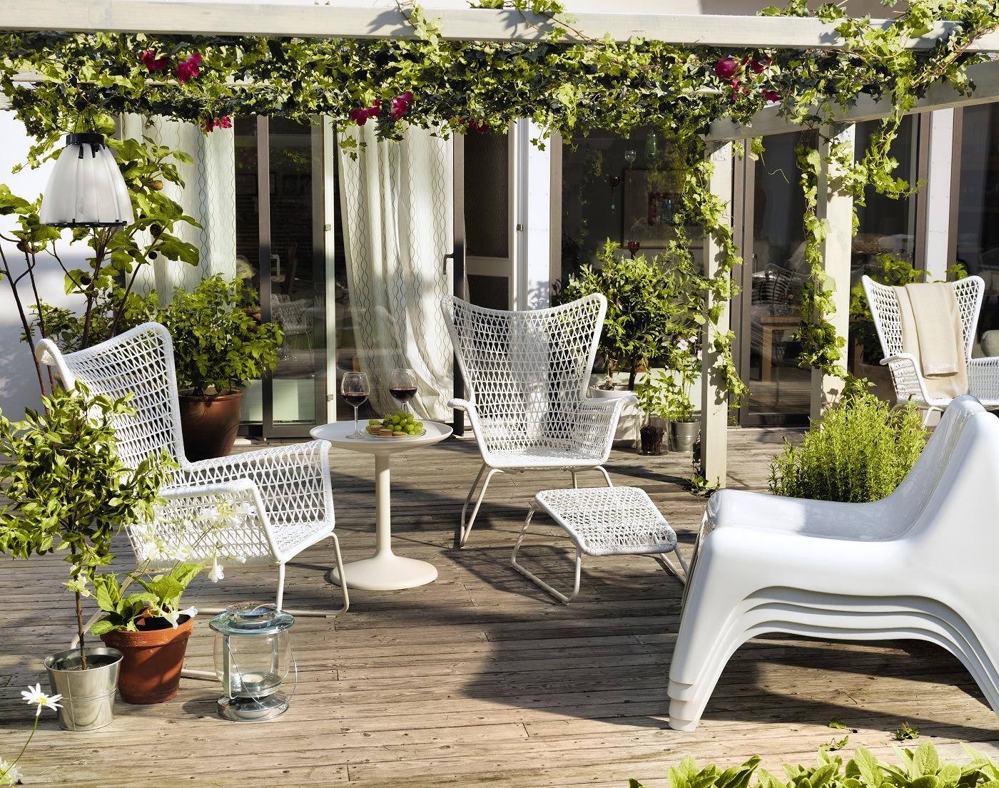 IKEA Högsten Sessel weiß