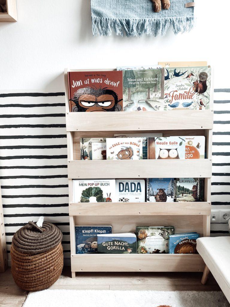 tidy books Bücherregal als Aufbewahrungsmöglichkeiten für das  Kinderzimmer