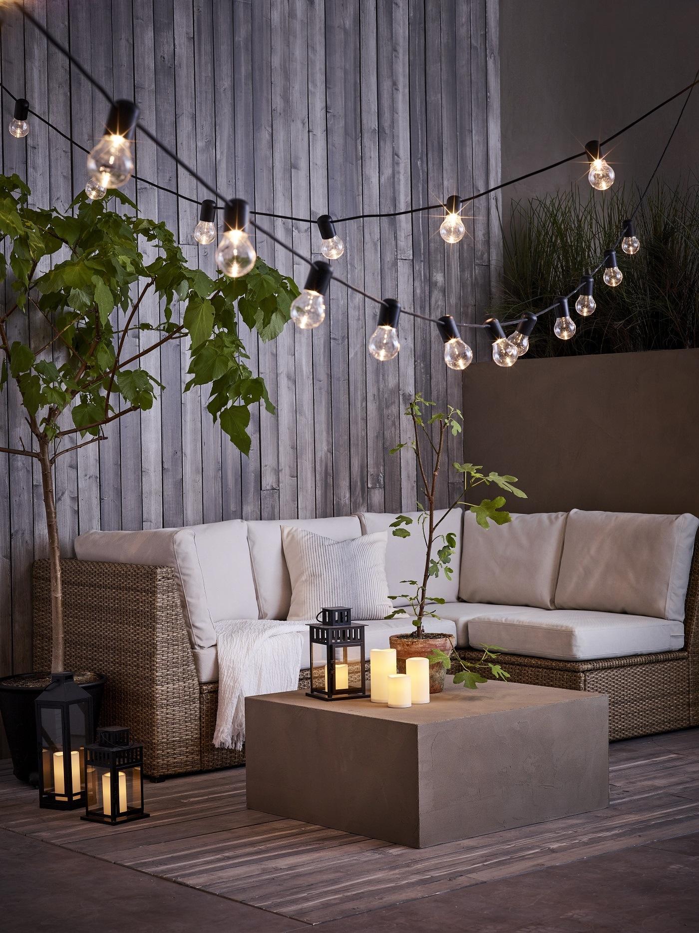 Lichterkette von IKEA