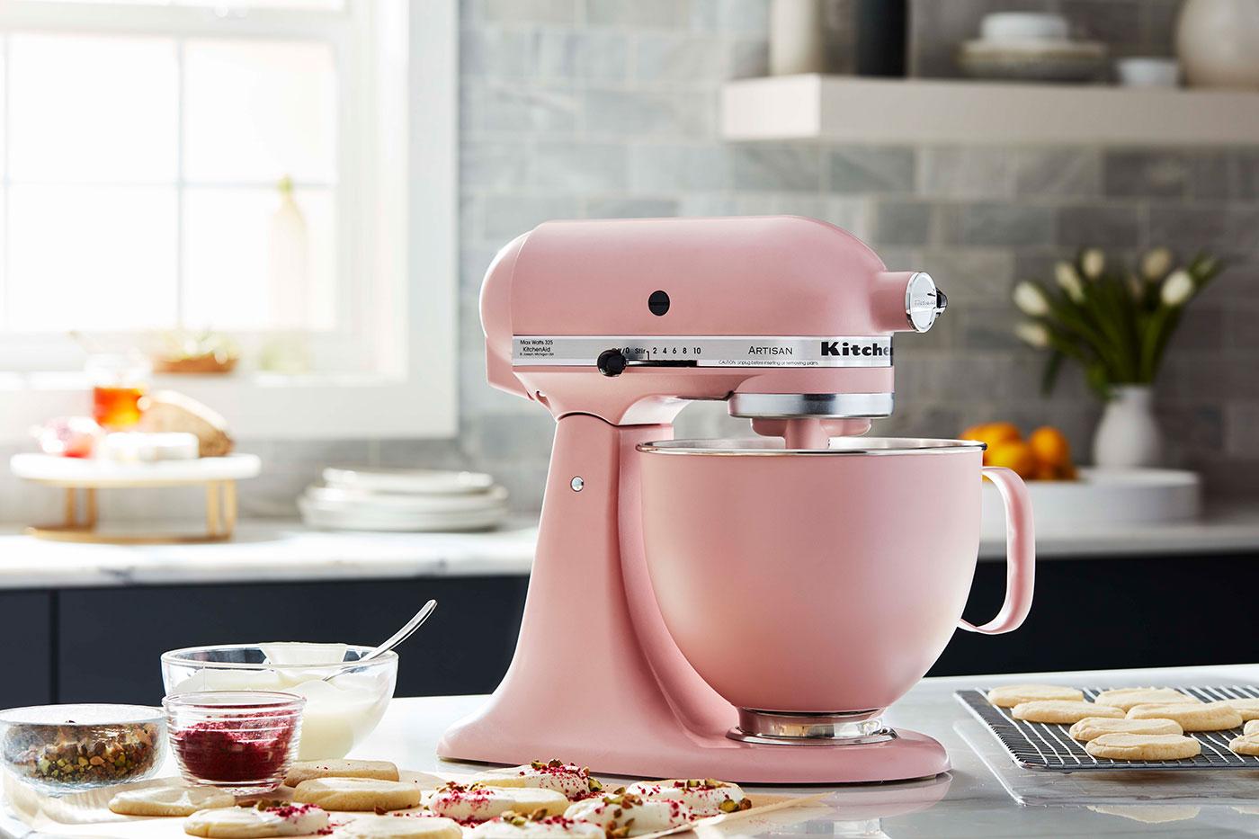 Kitchenaid Küchenmaschine Rosa 2021