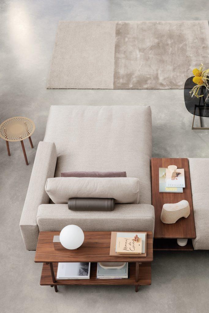 Rolf Benz Sofa mit Tisch