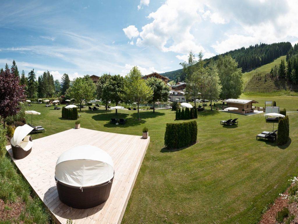 Garten Hotel Österreich