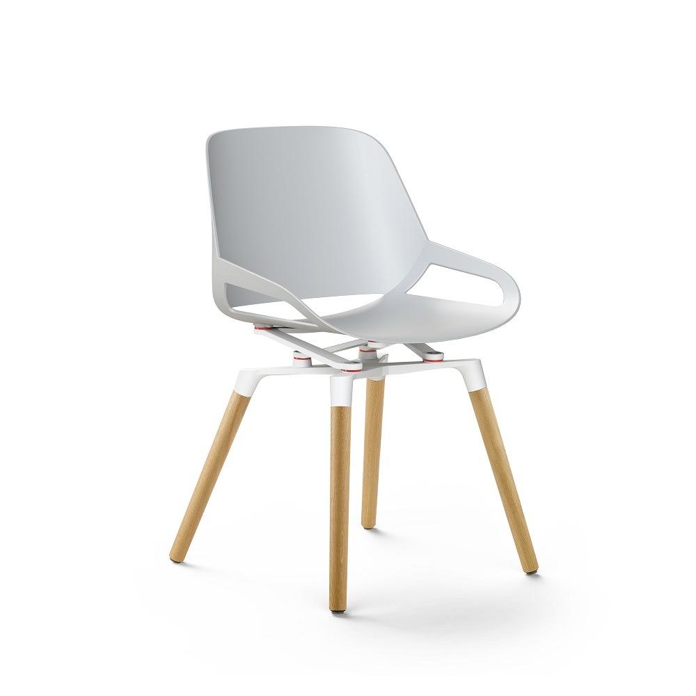 aeris numo Stuhl mit Holzgestell