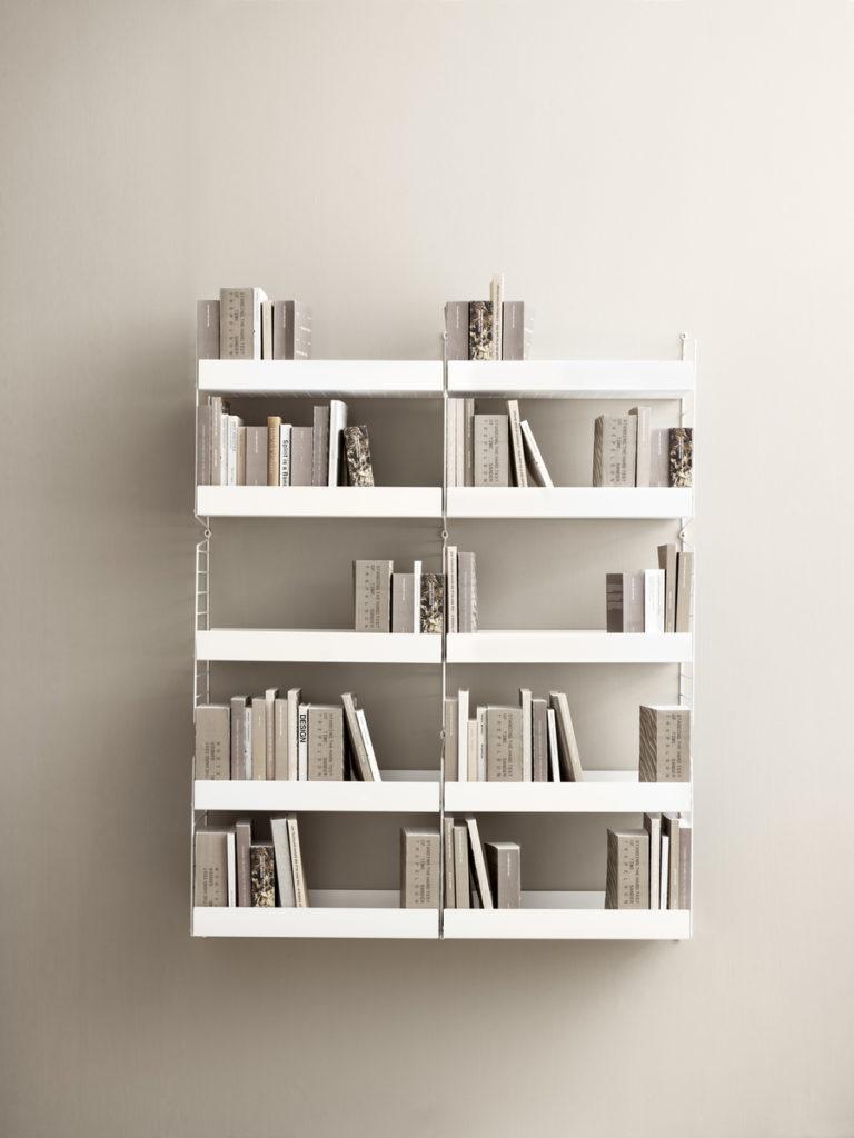 String als Bücherregal
