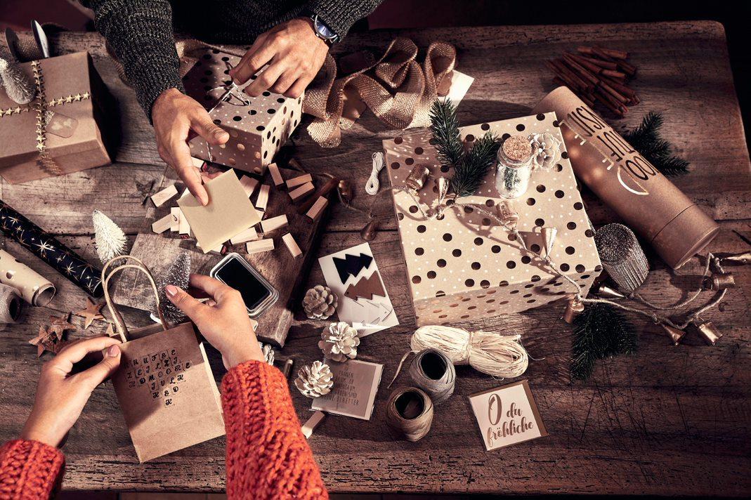 Verpackte Geschenke