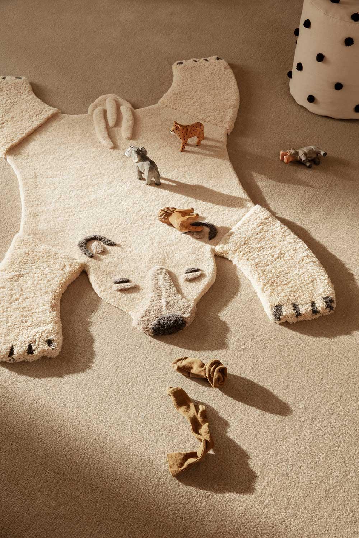 Teppich als Bär ferm Living