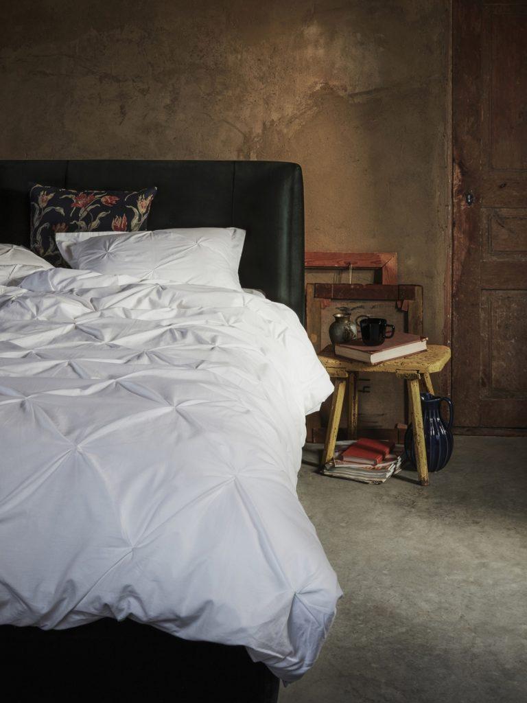 Weiße Bettwäsche von IKEA