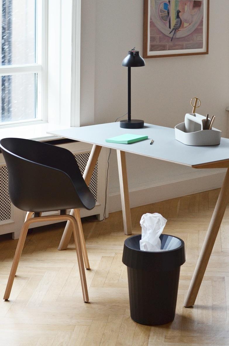 Stuhl Schwarz von Hay als Bürostuhl