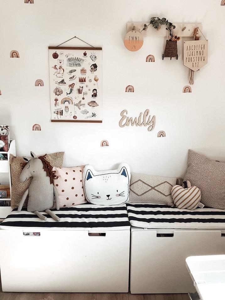 IKEA STUVA in Kinderzimmer in einem Kern-Haus Vero