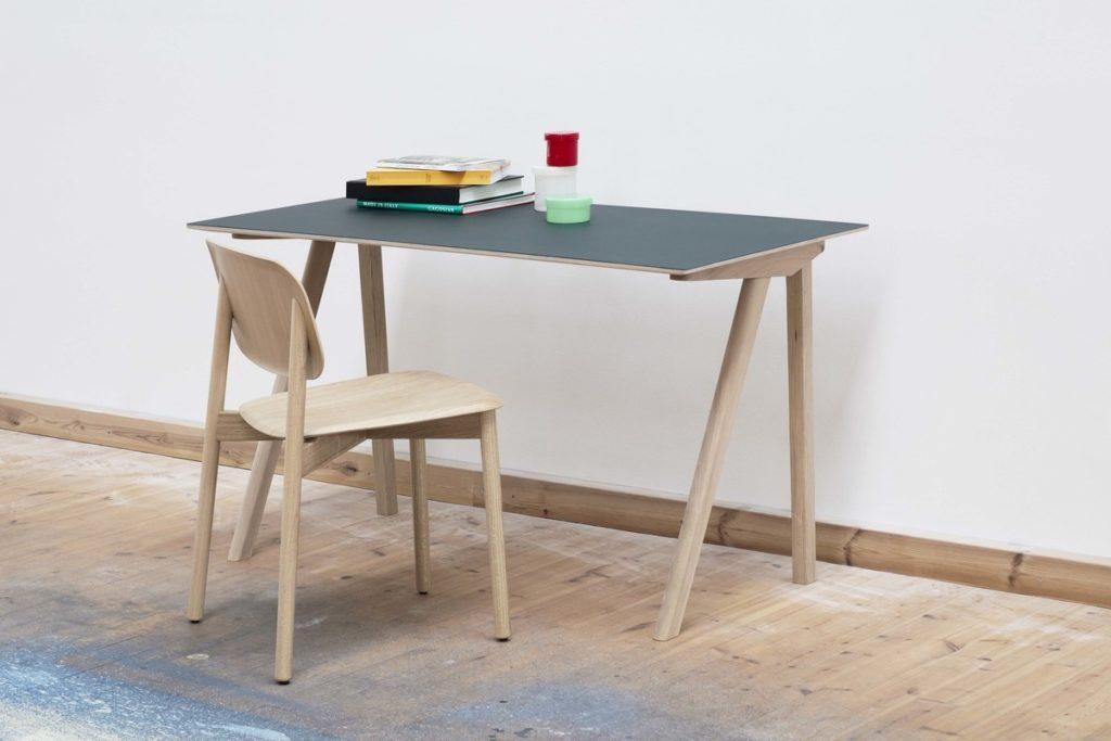 Gruener Schreibtisch von HAY