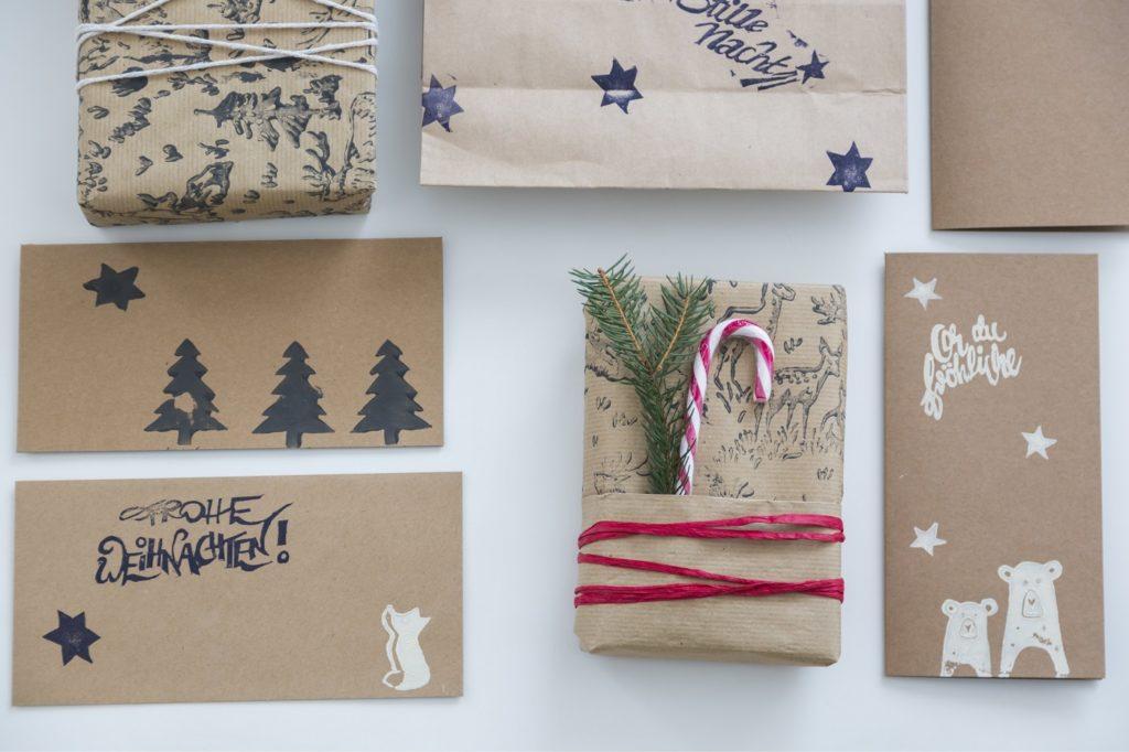 Geschenke verpacken Ideen
