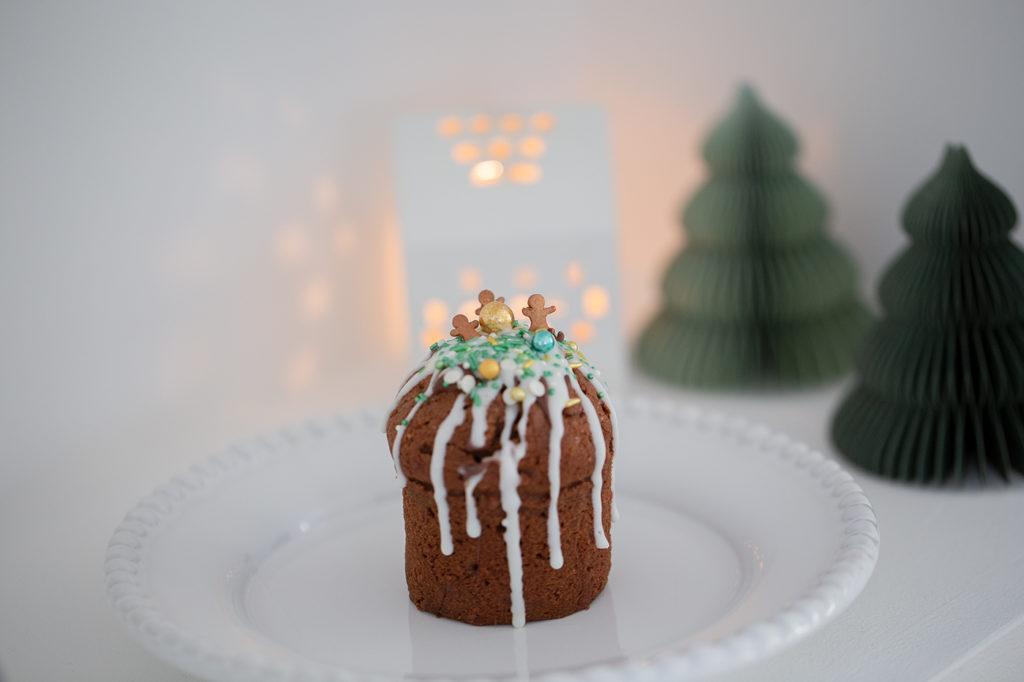 Muffins weihnachtlich dekorieren