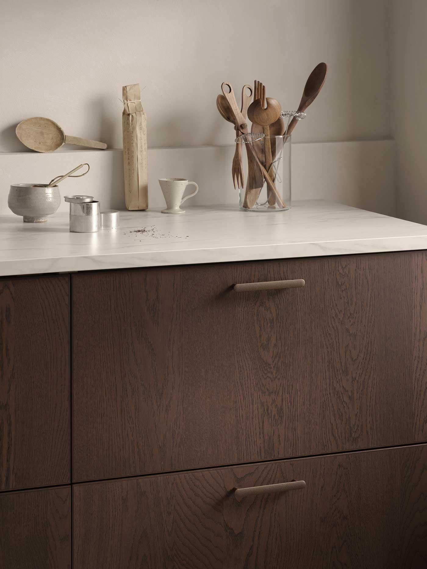 Küchenfronten dunkelbraun IKEA