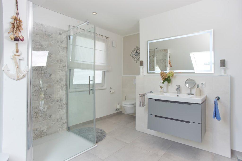 Badezimmer Satteldach