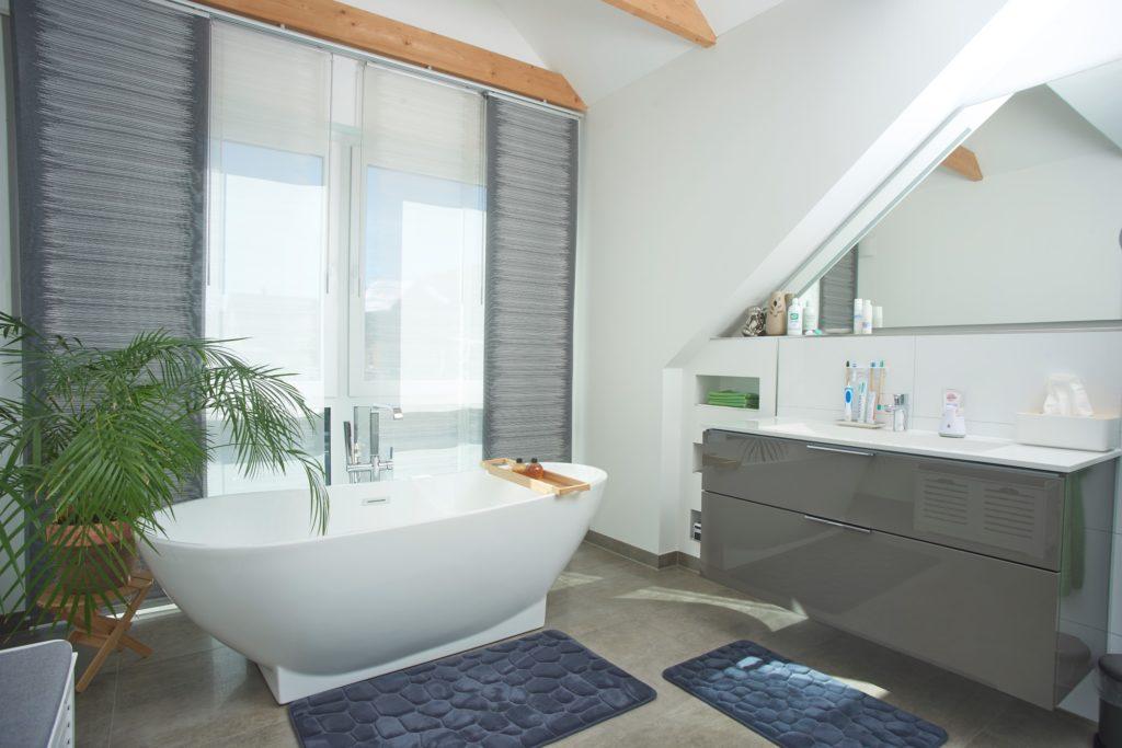 Badezimmer in der Gaube