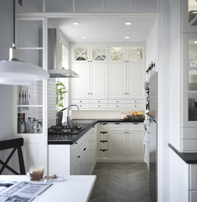 Landhausküche weiß IKEA