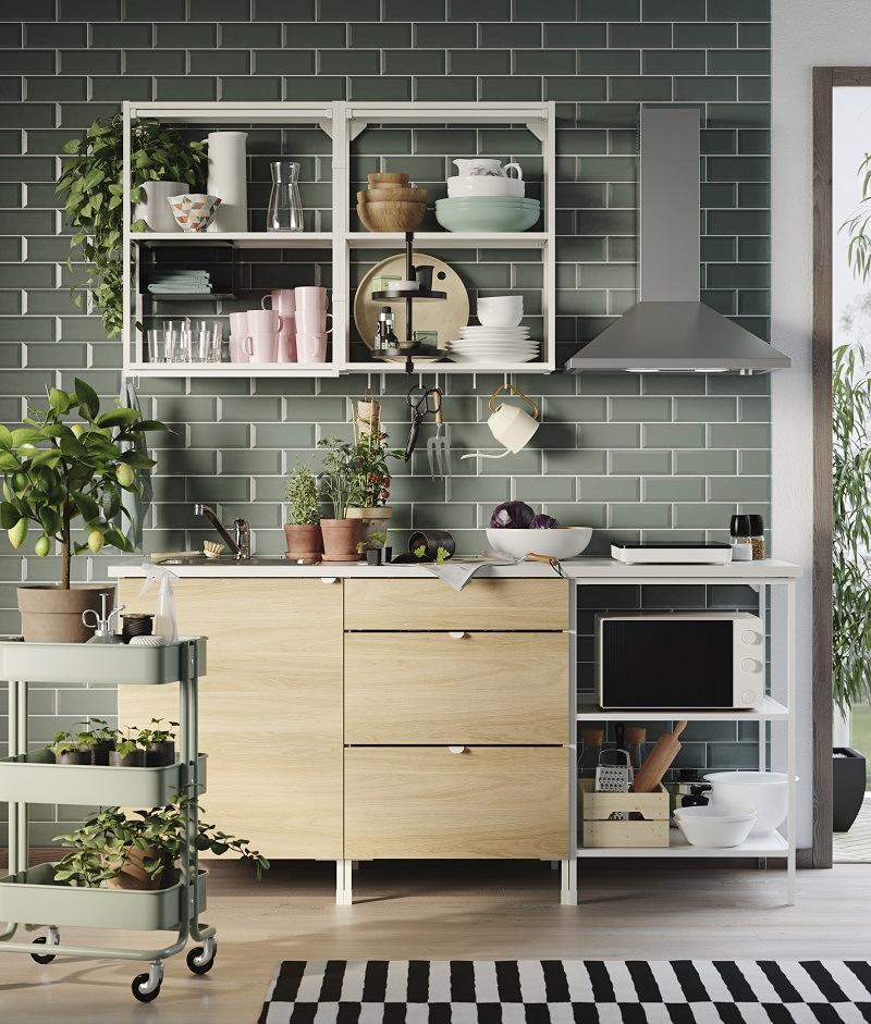 modulare Küche von IKEA