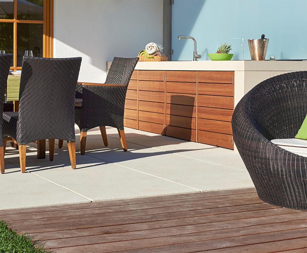 Outdoorküche Terrasse