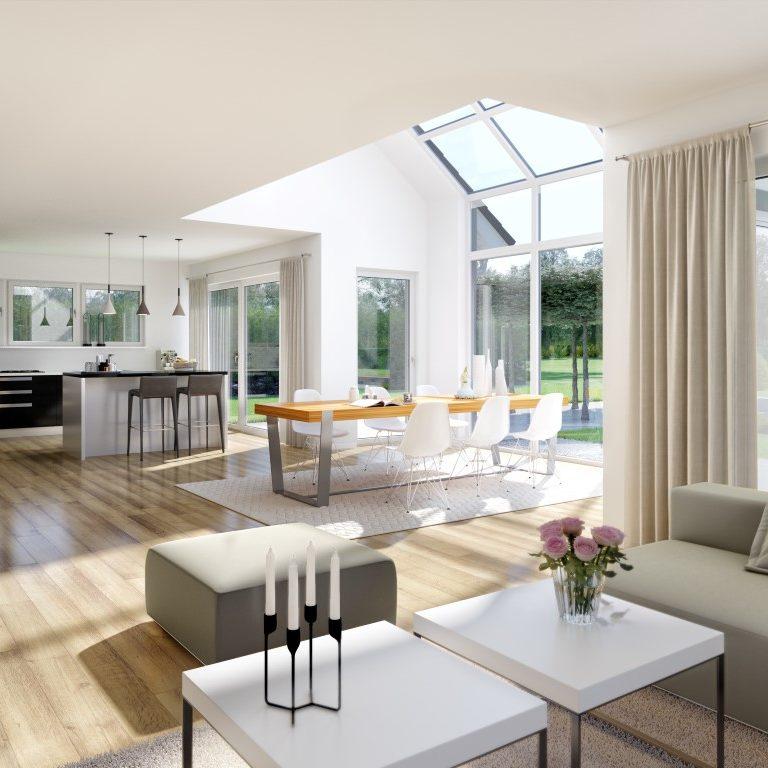 Familienhaus Maxime Modernes Wohnzimmer