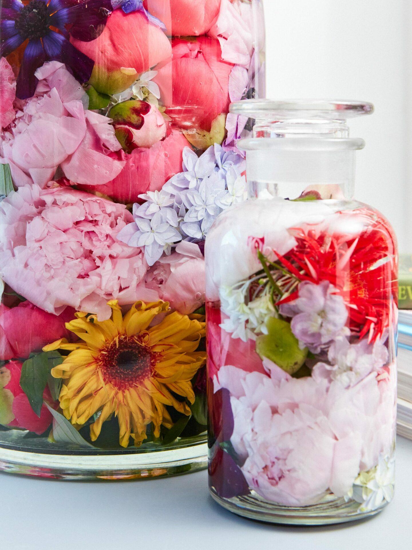 Blüten-Deko Ideen