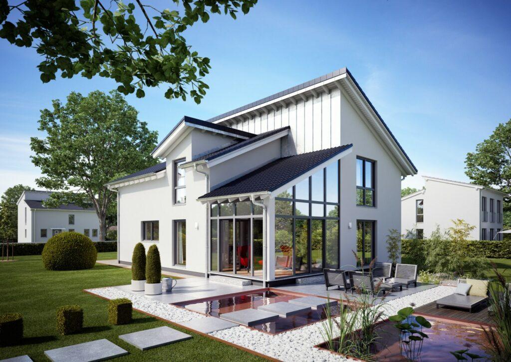 Wintergarten Familienhaus Akzent