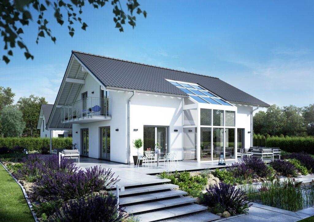 Familienhaus Luce Wintergarten