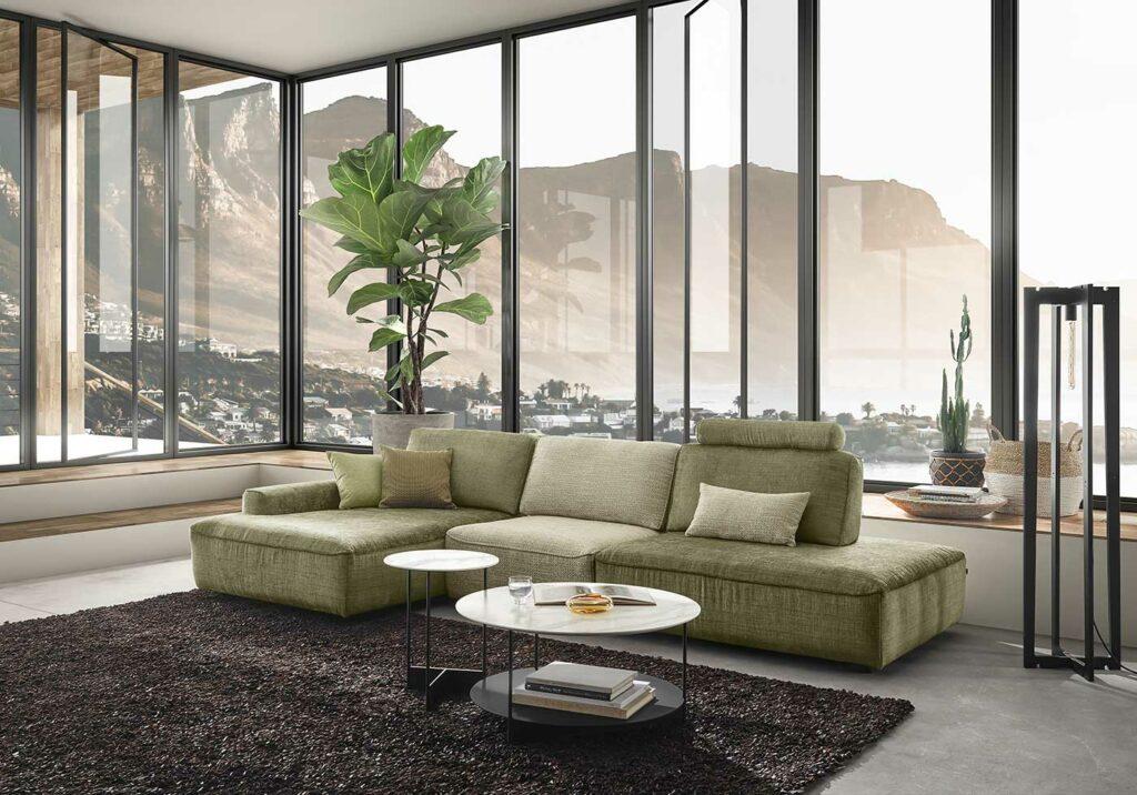 WK Wohnen Sofa WK 640