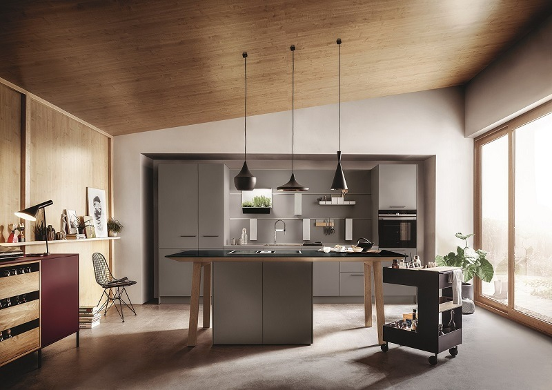 Küche Next 125 Grau