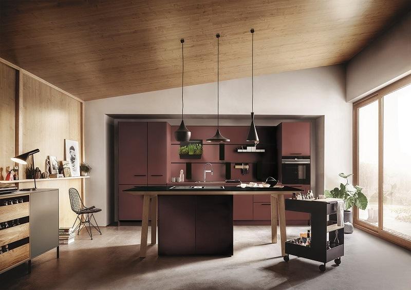 Küche in Rot von Next