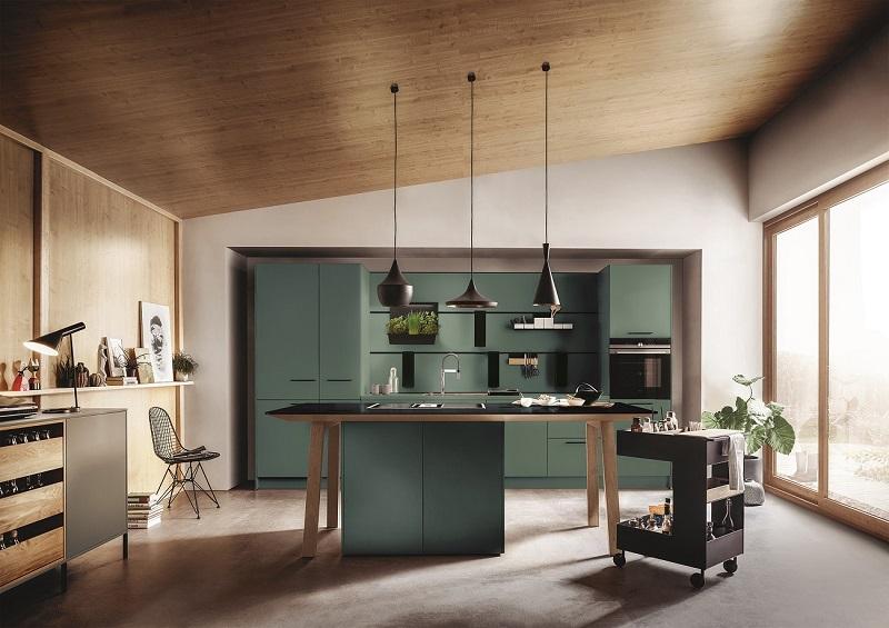 Küche in Grün von next 125