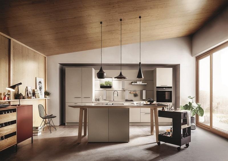 Küche in Grau von next 125
