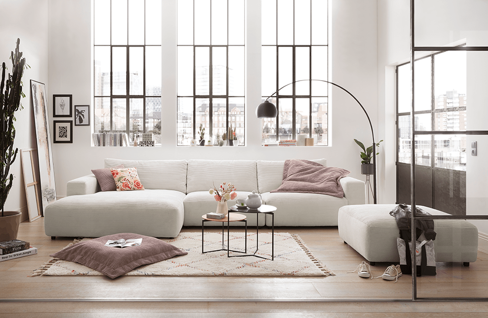Gallery M - Sofa in Weiß