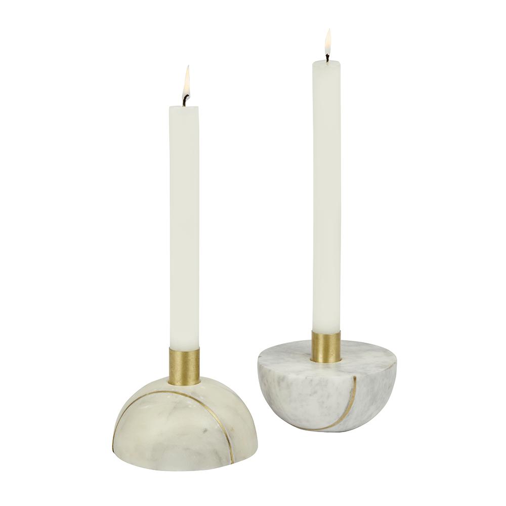 Kerzenhalter aus Marmor