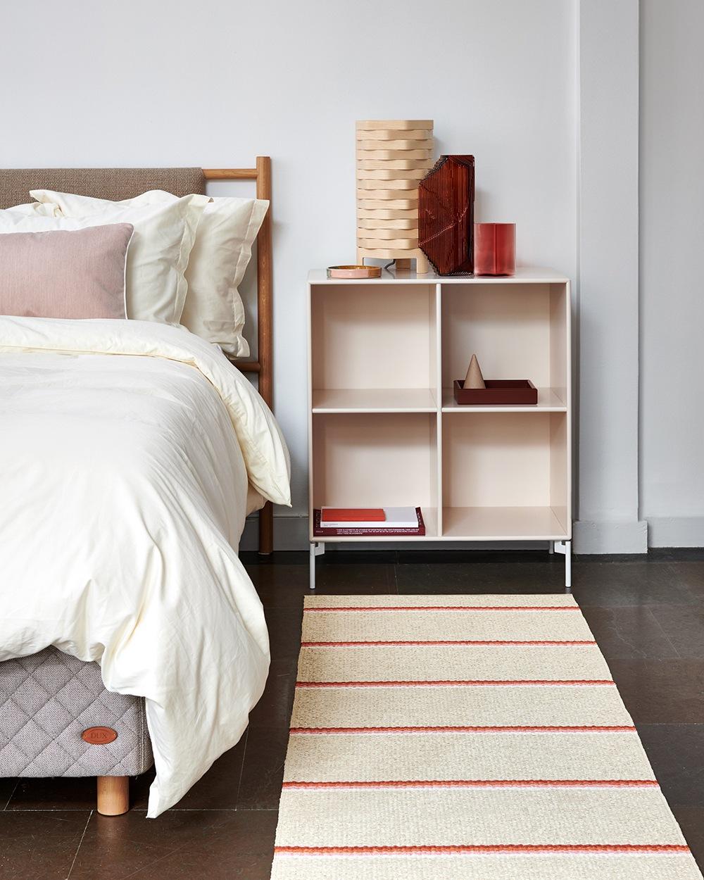 Pappelina Teppich mit Streifen